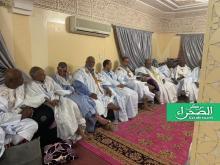الاجتماع الأخير لأعضاء مجلس الشيوخ السابق  (المصدر: الصحراء)