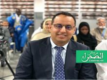 رئيس اتحاد كرة القدم أحمد ولد يحيى - (المصدر:ارشيف الصحراء)