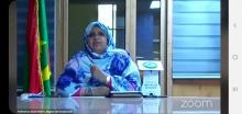 رئيسة جهة نواكشوط فاطمة بنت عبد المالك ـ (المصدر: الإنترنت)