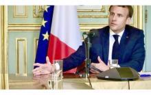 الرئيس الفرنسي إيمانويل مكرون ـ (المصدر: الإنترنت)