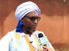 زعيم المعارضة إبراهيم ولد البكاي ـ (أرشيف الصحراء)