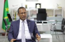 وزير التجهيز والنقل محمدو ولد امحيميد – (المصدر: الصحراء)