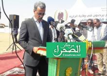 وزير التنمية الريفية الدي ولد الزين(أرشيف الصحراء)