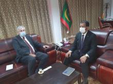 وزير الشؤون الإسلامية يجري محادثات مع سفير جنوب إفريقيا ـ (المصدر: الإنترنت)