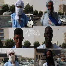 مواطنون في حديث إلى ميكرو الصحراء ـ (المصدر: الصحراء)