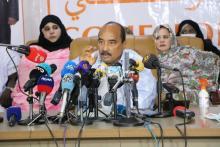 الرئيس السابق محمد ولد عبد العزيز ـ (المصدر: الصحراء)