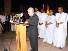 السفير الإسباني يلقي كلمته في الحفل - (المصدر: وما)
