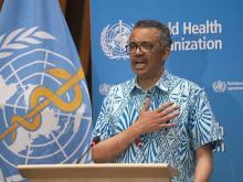 مدير منظمة الصحة العالمية ـ (المصدر: الإنترنت)