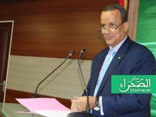 وزير الخارجية إسماعيل ولد الشيخ أحمد - (المصدر: ارشيف الصحراء)