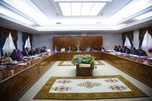 مجلس الوزراء في اجتماعه اليوم - (المصدر: وما)