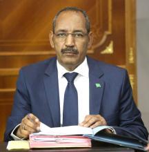 وزير الداخلية - أحمدو ولد عبد الله