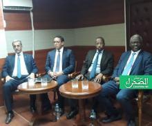 الوزراء المشاركون في المؤتمر الصحفي - (المصدر: الصحراء)