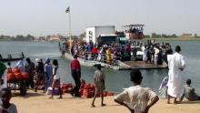 الحدود الموريتانية السنغال (المصدر: الانترنت)