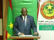 الناطق الرسمي باسم الحكومة سيدي ولد سالم - (المصدر: الصحراء)