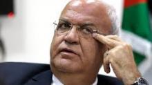 كبير المفاوضين الفلسطينيين صائب عريقات. © أ ف ب