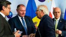 اجتماع قادة دول الاتحاد الأوروبي في بروكسل، بلجيكا في 24 يونيو/حزيران 2021. © أ ف ب.