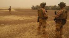 جنود فرنسيون في في منطقة هومبوري شمال مالي. © أ ف ب/ أرشيف