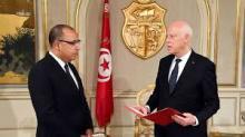 الرئيس التونسي قيس سعيّد يعين هشام مشيشي رئيسا للوزراء في قصر قرطاج