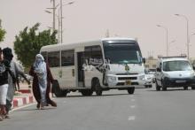 باص تابع لإدارة الأمن (ارشيف - الصحراء)