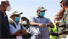 وزير المياه والصرف الصحي سيد أحمد ولد محمد ـ (أرشيف الصحراء)