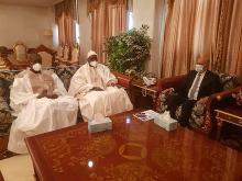 وفد جامعة طوبى لدى استقباله من طرف الرئيس غزواني