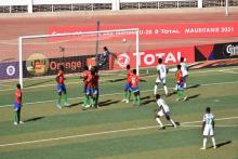 لحظة تسجيل هدف المنتخب الغاني -المصدر (فيسبوك)