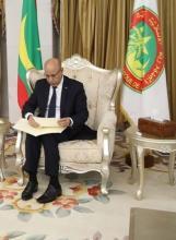 الرئيس ولد الشيخ الغزواني (المصدر: الانترنت)