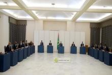 جانب من اجتماع مجلس الوزراء (أرشيف و م أ)