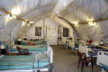 المستشفى الميداني لمعالجة مصابي كورونا في نواكشوط- المصدر (وما)