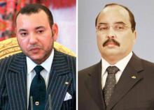 ولد عبد العزيز يهنئ ملك المغرب بمناسبة عيد العرش