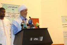 رئيس التجمع الثقافي الإسلامي في موريتانيا وغرب إفريقيا- المصدر (الصحراء)