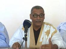 رئيس رابطة الصحفيين موسى بوهلي ـ (المصدر: الإنترنت)
