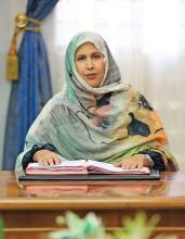 وزيرة التعليم العالي والبحث العلمي آمال منت الشيخ عبدالله