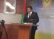الناطق الرسمي باسم الحكومة - الأستاذ سيدي محمد ولد محم / أرشيف