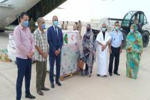 مفوضية الأمن الغذائي تستلم مساعدات من الجزائر ـ (المصدر: وما)
