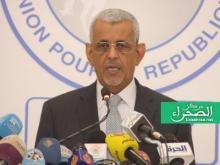 رئيس حزب الاتحاد من أجل الجمهورية سيدي محمد ولد الطالب أعمر ـ (أرشيف الصحراء)