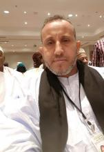المنسق العام للجنة الأهلة محمد الأمين ولد شيخنا ولد الشيخ أحمد ـ (المصدر: الإنترنت)