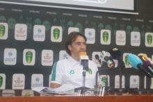 مؤتمر صحفي لمدرب المنتخب الوطني كورتين مارتينيز