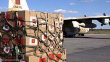 المساعدات تضم مستشفى ميدانيا
