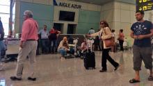 من مطار الجزائر الدولي