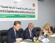 الفريق محمد ولد مكت خلال كلمته في افتتاح الدورة (و م أ)
