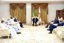 الرئيس غزواني يستقبل رؤساء أحزاب الأغلبية غير الممثلة في البرلمان ـ (المصدر: وما)