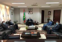 سفير الصين بنواكشوط في اجتماعه مع وزير الخارجية (و م أ)