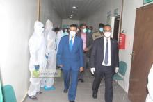 وزير الصحة يتفقد جناح كورونا بمصحة الرضوان ـ (المصدر: الإنترنت)