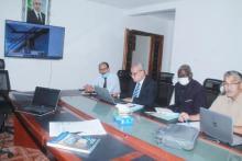 اجتماع اللجنة الموريتانية الأوروبية المشتركة للصيد ـ (المصدر: وما)