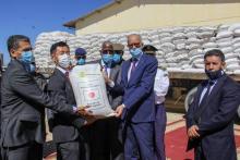 موريتانيا تتسلم أكثر من 5 آلاف طن من الأرز من اليابان ـ (المصدر: وما)