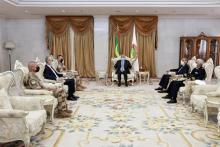 الرئيس غزواني يلتقي قائد عمليات برخان ـ (المصدر: وما)