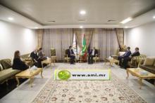 الرئيس غزواني يجري مباحثات مع رئيس الحكومة الإسبانية ـ(المصدر: وما)