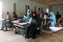 مدارس نواكشوط في آخر يوم قبل تطبيق قرار إغلاقها 10 أيام ـ (المصدر: الصحراء)