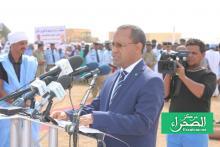 وزير التجهيز والنقل محمدو ولد امحيميد (المصدر: الصحراء)